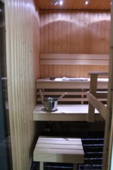 Sauna's ready!