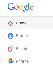 Select 'Home' from the drop-down menu.