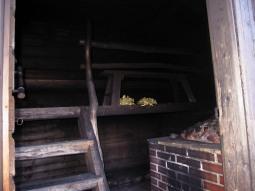 Smoke sauna (interior)