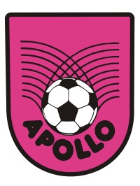 Apollo FC club badge, resurrected from the 1980's and now in pink