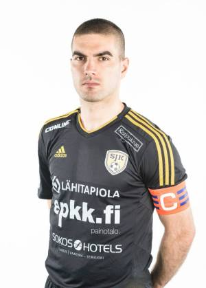 SJK captain, Pavle Milosavljevic, modelling the new 2015 kit