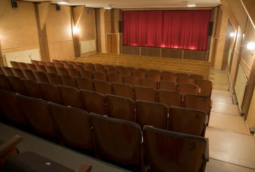 In the auditorium. Picture: Matin-Tupa