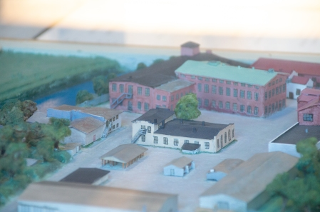 Model of the old ammunition factory in Lapua