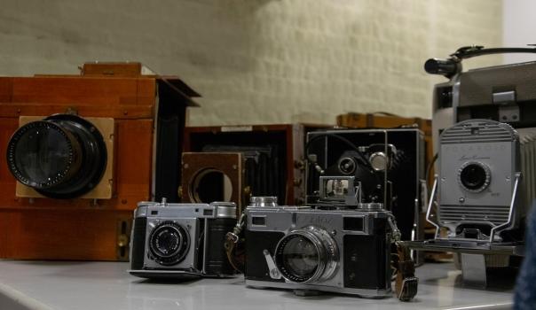Pyhälahti studio, cameras