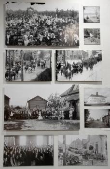 Pyhälahti studio, photo montage